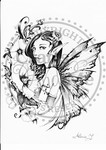 *New*Althea Greyscale Digital Stamp